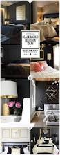 Luxury Linen Curtains Bedroom Decoration Ideas A Touch Of Luxury Black Bedroom Decor