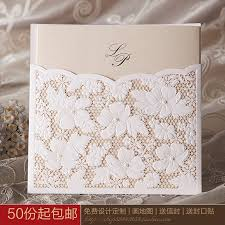 Personal Wedding Invitation Cards Online Buy Wholesale Quality Wedding Invitations From China