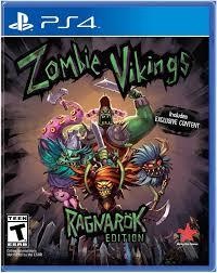 amazon com zombie vikings playstation 4 video games