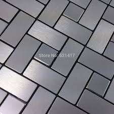 popular adhesive backsplash tiles buy cheap adhesive backsplash metal mirror aluminum self adhesive mosaic tiles for kitchen backsplash decoration tiles hmsm1016 china