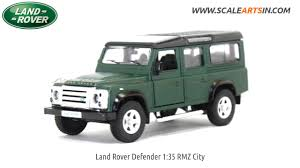 green land rover land rover defender matte green 1 32 rmz city diecast scale model