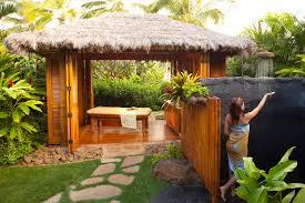 Bathroom Bamboo Outdoor Bathroom Design With Bamboo Plants Also Freestanding