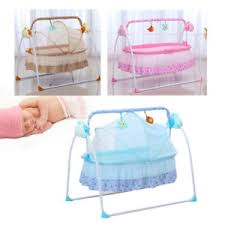 Baby Crib Bed Electric Baby Crib Cradle Infant Rocker Auto Swing Bed Baby Sleep
