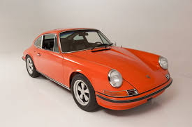 Porsche 911 Orange - 1968 porsche 911 s coupe orange classic cars wallpaper 1600x1065