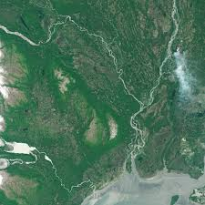 Alaska Wildfires Map by Sockeye Fire In Alaska Image Of The Day