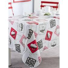 nappe de cuisine rectangulaire nappe en toile cirée rectangulaire 140x200 cm cafetiere cuisine