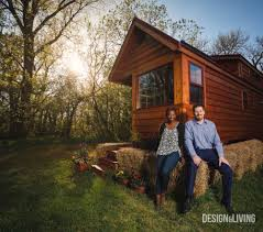 home tour of a tiny house in the country design and living magazine