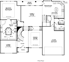 Floor Layouts Colored And Furnished Floor Plans For New Homes From Bdx