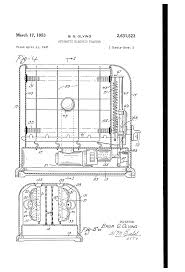 Sunbeam Oven Toaster Patent Us2631523 Automatic Electric Toaster Google Patents