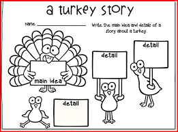 thanksgiving reading worksheets for grade