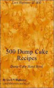 free kindle book for a limited time 500 dump cake recipes cake