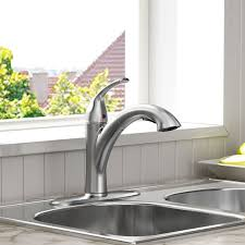 pull kitchen faucet standard 4433 100 075 quince pull out kitchen faucet