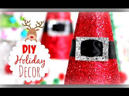 diy christmas decorations cute holiday room decor youtube