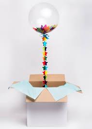 balloon in a box hippenings send a gift confetti balloon in a box