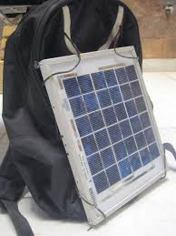 How To Make A Solar Light - how to make a solar backpack