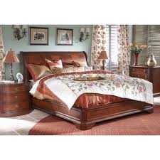 Platform Sleigh Bed Furniture Design Antebellum California King Sleigh Bed With