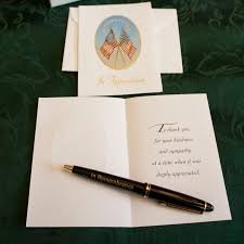 memorial service guest books and service memorial guest book kit with cards and