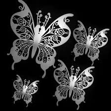 22 00 usd stainless steel butterfly windows door ornaments was