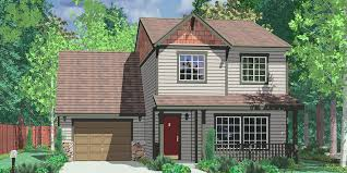 building plans houses narrow lot house plans building small houses for small lots