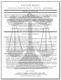 Resume Example Word by Legal Resume Examples Berathen Com