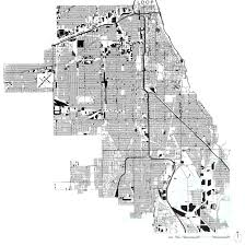 Chicago Map Art by Depave Chicago U2014 Water Lab