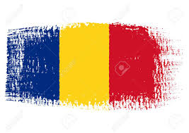 Andorra Flag Brushstroke Flag Romania With Transparent Background Royalty Free