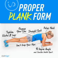 Challenge Properly Step Up Your Plank Workout Idealshape