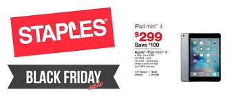 top 5 deals staples 2015 black friday ad