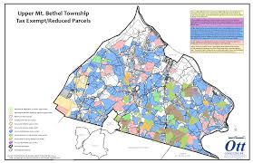 Ohio Sales Tax Map by Home Upper Mount Bethel Township
