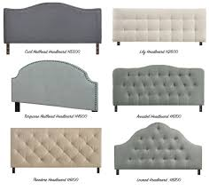 Design For Headboard Shapes Ideas Upholstered Headboards Under 200 00 Danielle Oakey Interiors