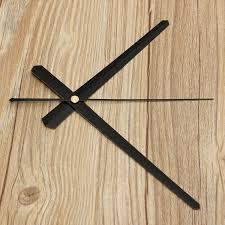 diy large wall clock accessories black white alex nld