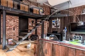 deco chambre loft idées du moment pour une décoration loft industriel chambre