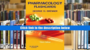 download pharmacology flash cards 3e george m brenner phd for