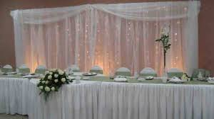 wedding backdrop tulle christmas light decoration question weddingbee