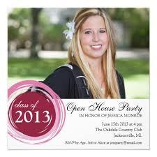 graduation open house invitations templates graduation open house invitations
