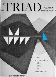 Triad Flag Football Acacia Triad Vol 56 No 3 Spring 1961 By Acacia Fraternity Issuu