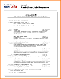 basic resume exles basic resume exles for part time template