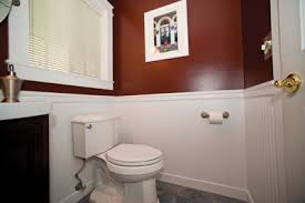 bathroom with wainscoting ideas installing wainscot in a powder bath how to