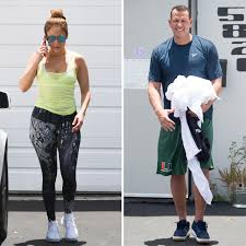 j lo and a rod hit the gym on her 48th birthday instyle com