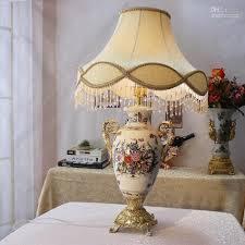 2016 fashion quality ceramic table lamp antique vintage style
