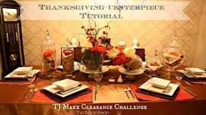 thanksgiving centerpiece tutorial tj maxx clearance tablescape