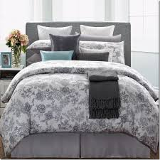 Plain White Comforters Grey And White Queen Floral Pattern Comforter With Vintage