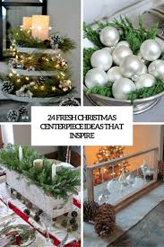 24 fresh christmas centerpieces ideas that inspire shelterness