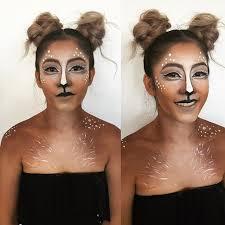 Deer Halloween Costume Women 25 Reindeer Makeup Ideas Bambi Costume Deer