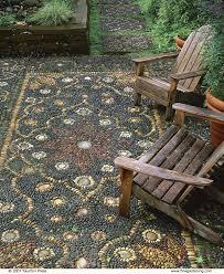 Pronunciation Of Patio Create A Pebble Mosaic Fine Gardening