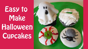 cute u0026 simple halloween cupcakes you can make youtube