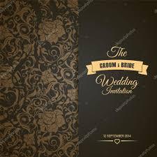 Cover Invitation Card Wedding Invitation Card Editable With Background Chevron U2014 Stock