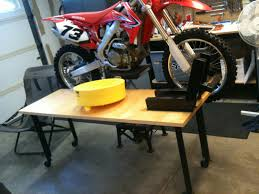 Diy Bike Desk by Share Your Motorcycle Work Bench Pictures Here South Bay Riders