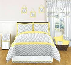 gray and yellow chevron baby bedding blue and white chevron duvet