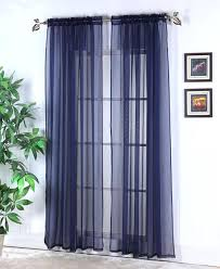 navy sheer curtains navy panel curtains mood indigo modern navy